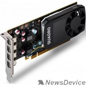 Видеокарта VGA PNY NVIDIA Quadro P620, 2 GB GDDR5/128-bit, PCI Express 3.0 x16, DP 1.4x4, 4xminiDisplayPort - DVI-D (VCQP620V2ATX) VCQP620DVIV2BLK-1 OEM