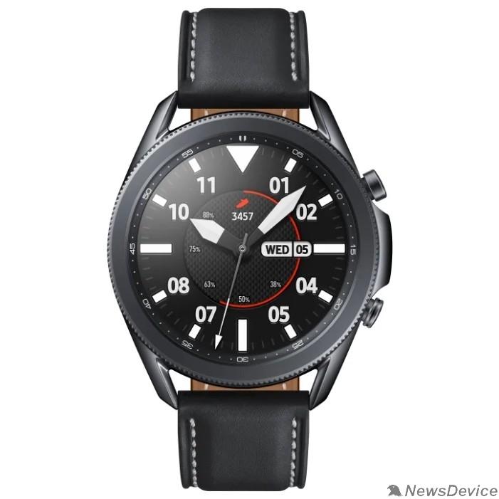 """Умные часы Samsung Galaxy Watch 3 45мм 1.4"""" Super AMOLED черный (SM-R840NZKACIS)"""