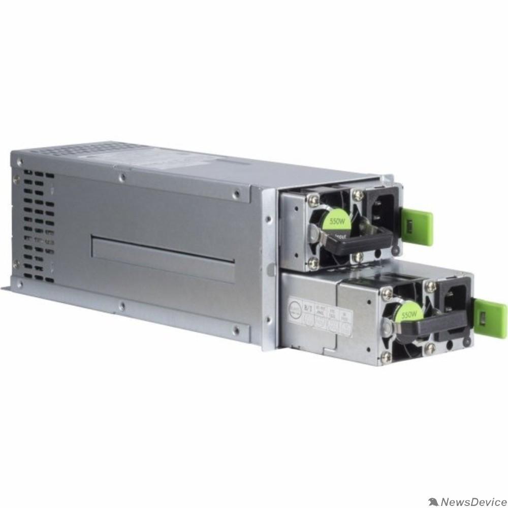 Блок питания Блок питания 550W 2U Reduntant (1+1) Power Supply