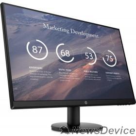 """Монитор LCD HP 27"""" P27v G4 IPS 1920x1080 16:9 300cd 1000:1 5ms 178/178 D-Sub HDMI 9TT20AA#ABB"""