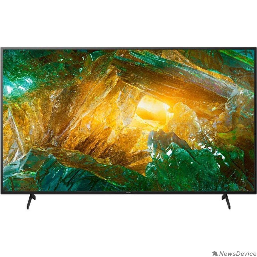 "Телевизор Sony 65"" KD65XH8096BR2 BRAVIA черный Ultra HD/100Hz/DVB-T/DVB-T2/DVB-C/DVB-S/DVB-S2/USB/WiFi/Smart TV"