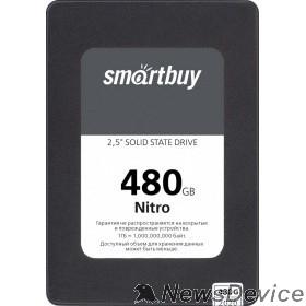 накопитель Smartbuy SSD 480Gb Nitro SBSSD-480GQ-MX902-25S3 SATA3.0, 7mm