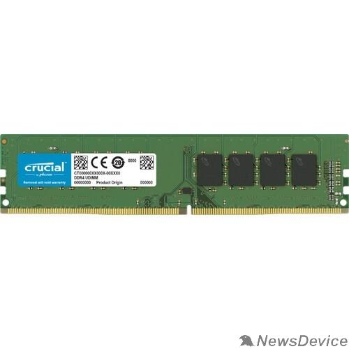 Модуль памяти Crucial DDR4 DIMM 16GB CT16G4DFRA266 PC4-21300, 2666MHz