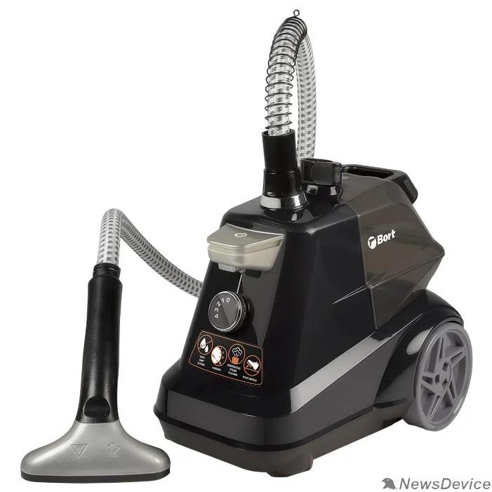 Пылесосы Bort Отпариватель для одежды Comfort + (Black Edition) Мощность 2350 Вт; 1 бар; подача пара 70 г/мин; 105 °С; Емкость бачка 3 мл; 93411294