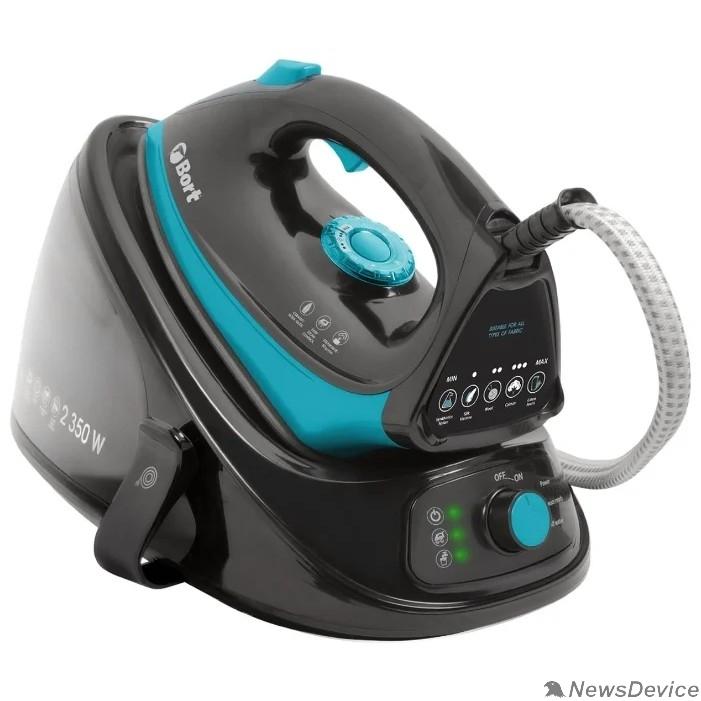Пылесосы Bort Парогенератор SteamCare Plus Мощность 2350 Вт; 4 бар; 55 г/мин;  98 °С; Емкость бачка 1100 мл; 93411324