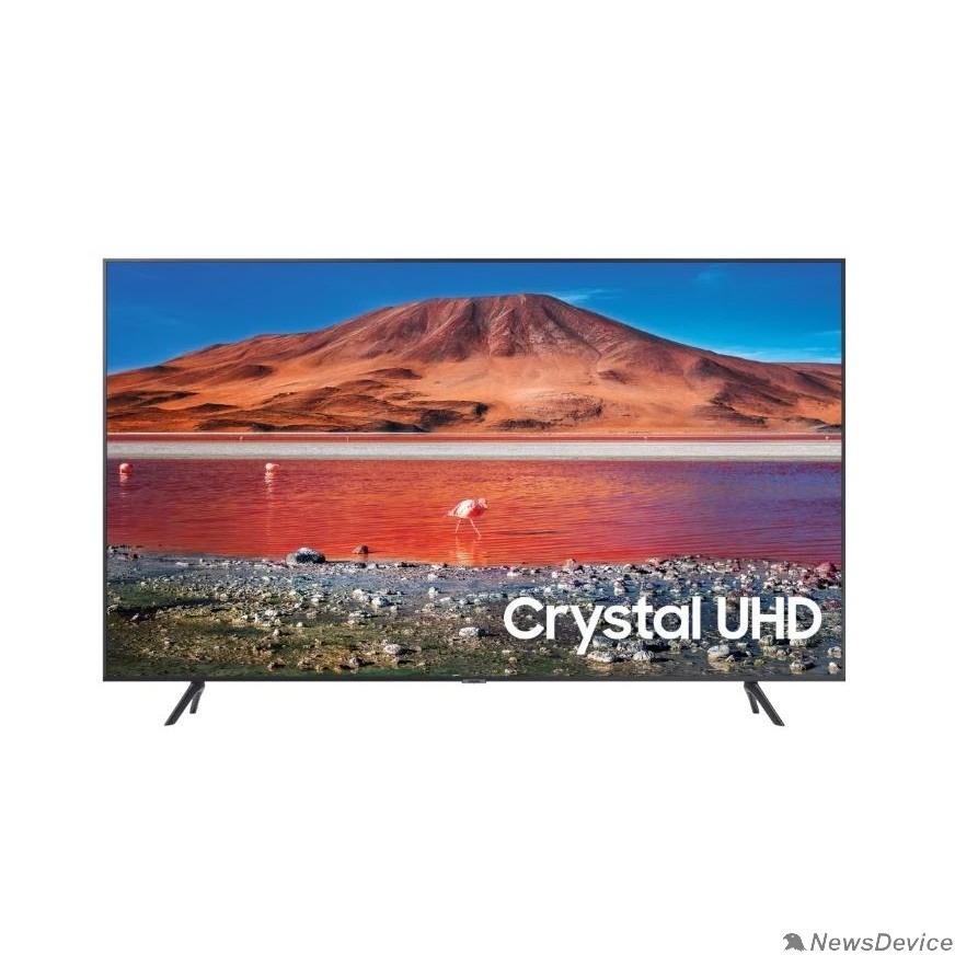 "Телевизор Samsung 70"" UE70TU7090UXRU титан Ultra HD/50Hz/DVB-T2/DVB-C/DVB-S2/USB/WiFi/Smart TV (RUS)"