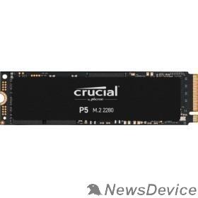 накопитель Crucial SSD 1000GB P5 M.2 NVMe PCIEx4 80mm Micron 3D NAND  3400/3000 MB/s CT1000P5SSD8