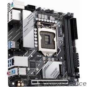 Материнская плата Asus PRIME B460I-PLUS Soc-1200 Intel B460 2xDDR4 mini-ITX AC`97 8ch(7.1) GbLAN RAID+HDMI+DP