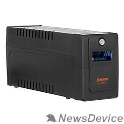 ИБП Exegate EP285568RUS ИБП ExeGate Power Smart ULB-650.LCD.AVR.EURO <650VA/360W, LCD, AVR, 2 евророзетки, Black>