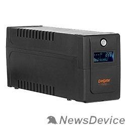 ИБП Exegate EP285559RUS ИБП ExeGate Power Smart ULB-600.LCD.AVR.C13.RJ.USB <600VA/360W, LCD, AVR, 4*IEC-C13, RJ45/11, USB, Black>