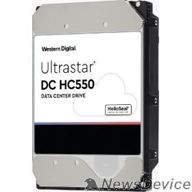 "Жесткий диск 16TB WD Ultrastar DC HC550 SAS 12Gb/s, 7200 rpm, 512mb buffer, 3.5"" 0F38357/WUH721816AL5204"