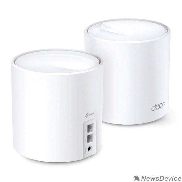 Сетевое оборудование TP-Link DECO X20(2-PACK) AX1800 Домашняя Mesh Wi-Fi система