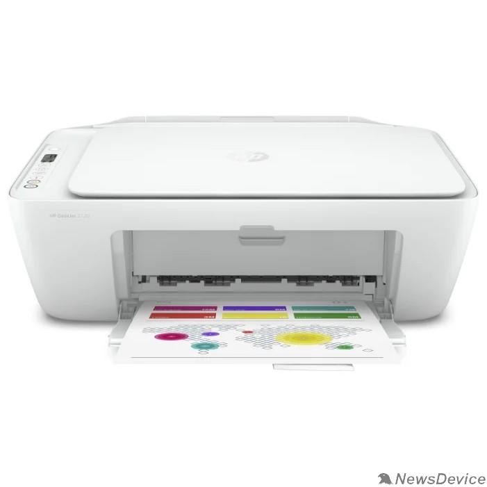 Принтер МФУ струйный HP DeskJet 2720 (3XV18B) A4 WiFi USB белый