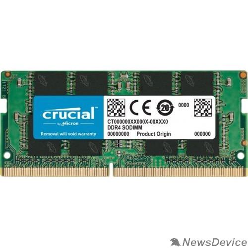 Модуль памяти Crucial DDR4 SODIMM 16GB CT16G4SFRA266 PC4-21300, 2666MHz