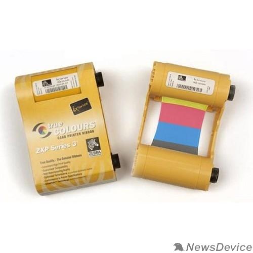 Расходные материалы Красящая лента YMCKOK для ZXP3, 165 отпечатков