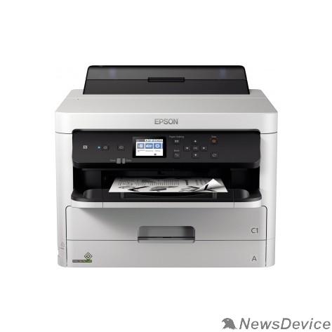 Принтер Принтер струйный Epson WorkForce Pro WF-M5299DW (C11CG07401) A4 Duplex Net WiFi USB RJ-45 черный