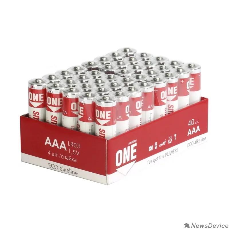 Батарейка Smartbuy ONE LR03/40 bulk (40/960) (SOBA-3A40S-Eco) (40шт. в уп-ке)