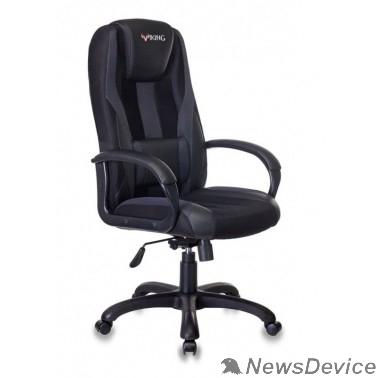 Офисное кресло или стул Кресло игровое Бюрократ VIKING-9/BLACK черный искусст.кожа/ткань 1160593