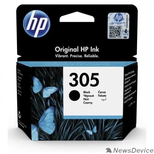 Расходные материалы Картридж струйный HP 305 3YM61AE черный (120стр.) для HP DJ 2320/2710/2720