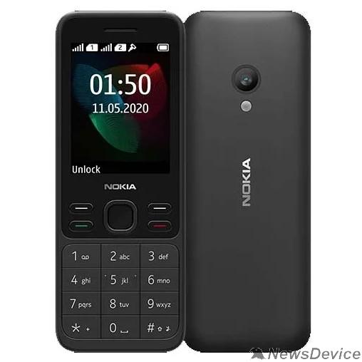 Мобильный телефон Nokia 150 DS Black (2020) 16GMNB01A16