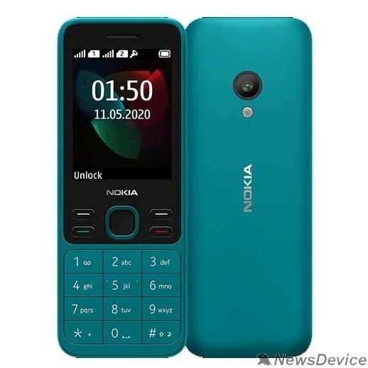 Мобильный телефон Nokia 150 DS Cyan (2020) 16GMNE01A04