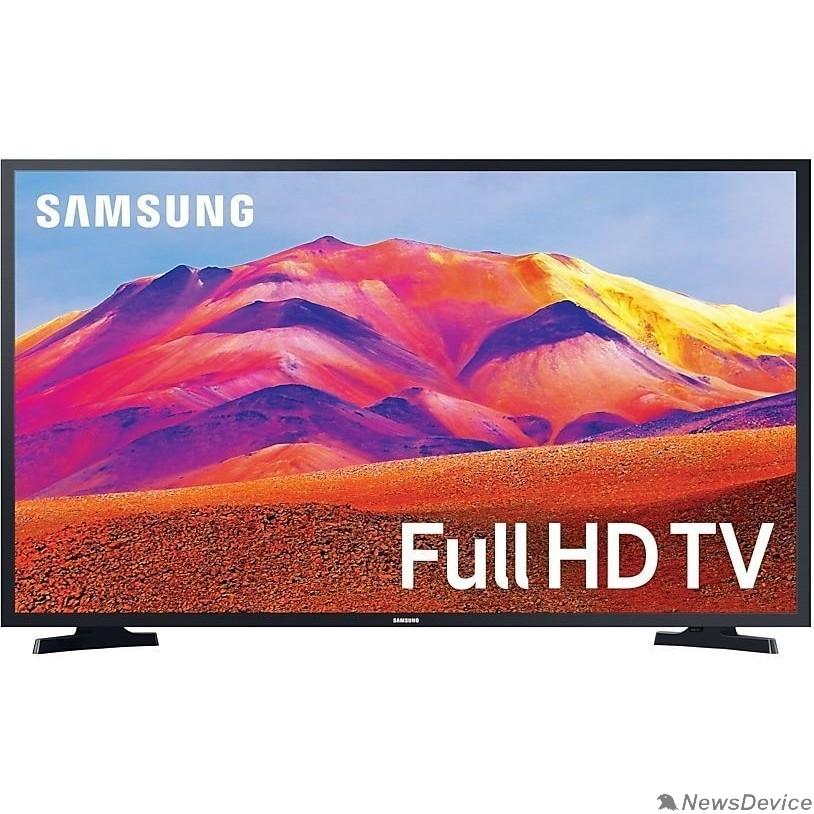 "Телевизор Samsung 43"" UE43T5300AUXRU черный FULL HD/50Hz/DVB-T2/DVB-C/DVB-S2/USB/WiFi/Smart TV (RUS)"