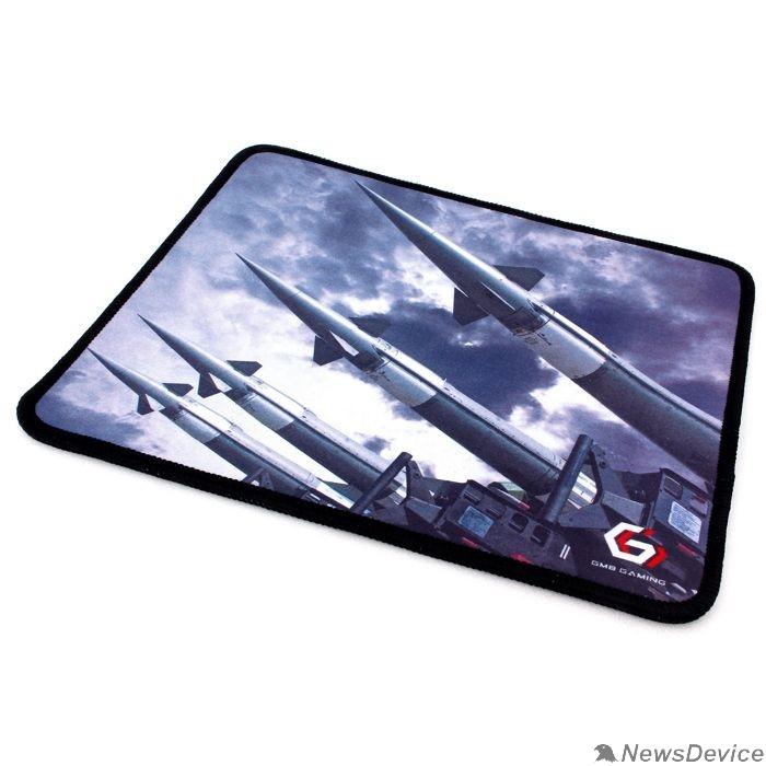 """Коврики Коврик для мыши Gembird MP-GAME32, рисунок- """"ракеты"""", размеры 250*200*3мм, ткань+резина, оверлок"""