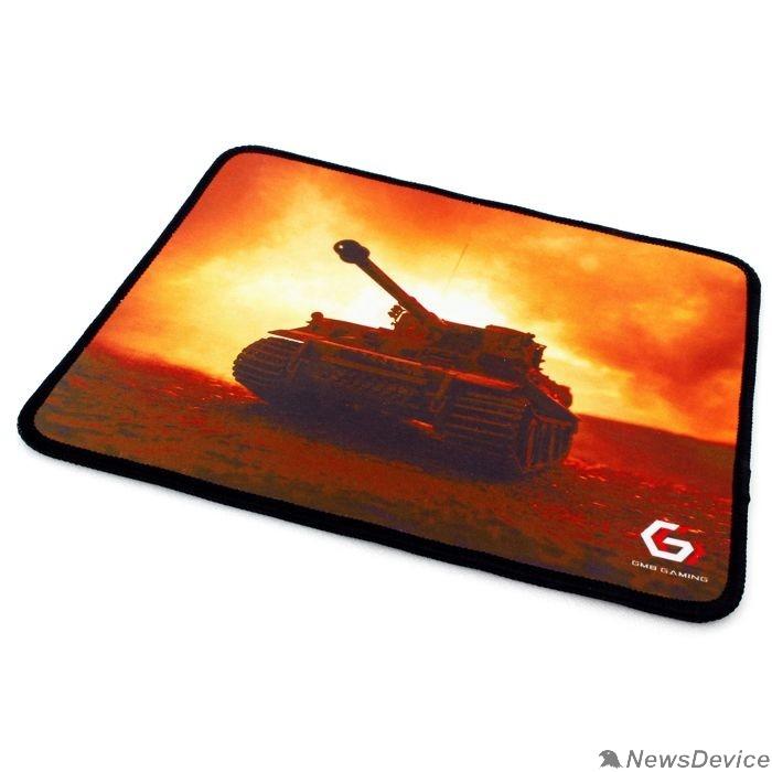 "Коврики Коврик для мыши Gembird MP-GAME33, рисунок- ""танк"", размеры 250*200*3мм, ткань+резина, оверлок"