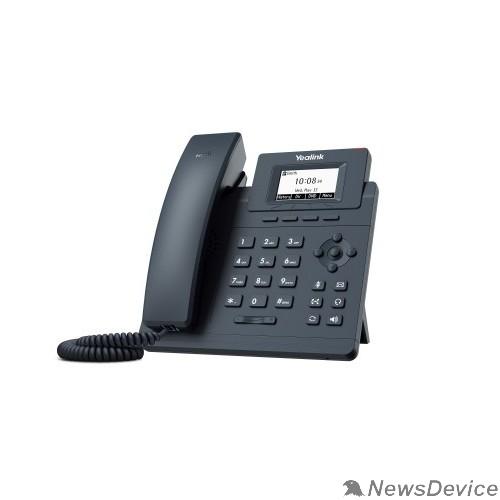 VoIP-телефон Yealink SIP-T30P Телефон SIP 1 линия, PoE, БП в комплекте (6938818306035)