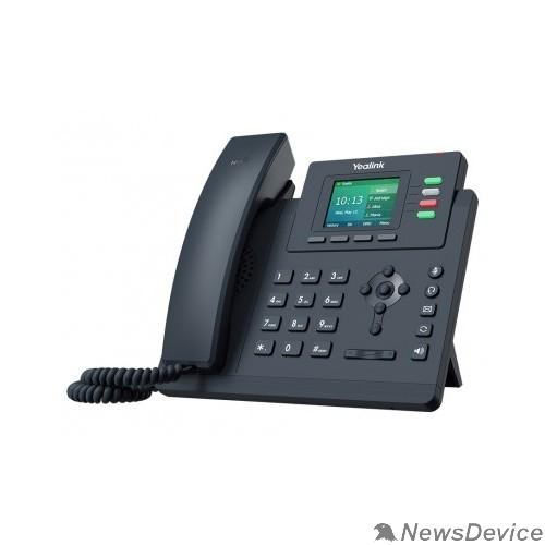 VoIP-телефон Yealink SIP-T33G  4 линии, цветной экран, PoE, GigE, БП в комплекте (SIP-T33G)