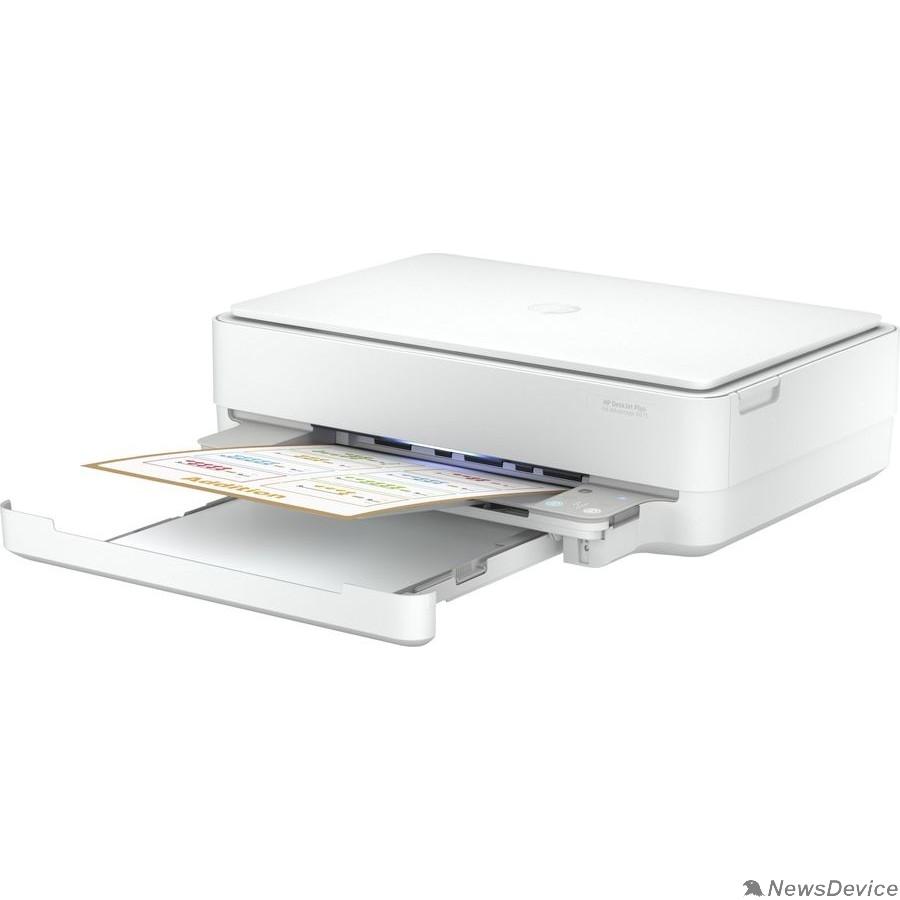 Принтер МФУ струйный HP DeskJet Ink Advantage 6075 (5SE22C) A4 WiFi USB белый