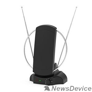 Антенны для цифровых приставок DVB-T2 RITMIX RTA-109 AV 174-240 МГц; 470-862 МГц. Сопротивление 75 Ом. Телескопические усы антенны до 80см. Антенный кабель 2м, кабель питания 1,5м. Питание: (DC) 5В, 500 мА через USB.