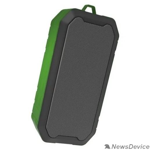 Колонки RITMIX SP-350B green 5 Вт, 40 мм 4 Ом, Bluetooth: 4.2, FM-радио, AUX, USB, microSD, IP5, 1200 мАч, microUSB DC 5В 1A, пластик, зеленый