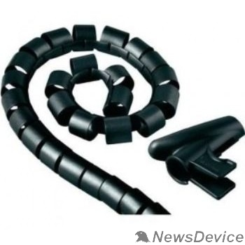 Аксессуар Кабельный органайзер Hama H-20603 (00020603) 1.5m black