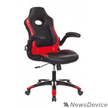 Офисное кресло или стул Кресло игровое Бюрократ VIKING-1N/BL-RED черный/красный искусственная кожа 1180812