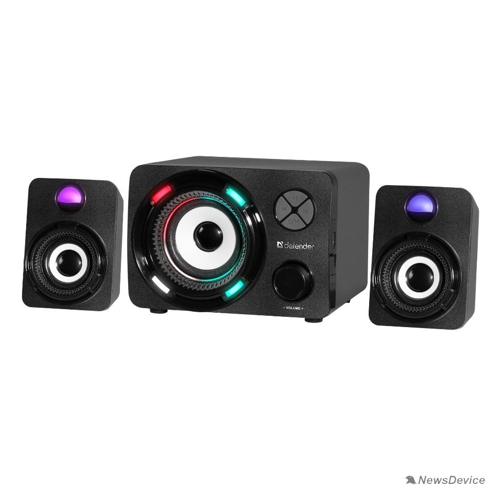 Колонки Defender G11 11Вт, Light/BT/FM/TF/USB/AUX 65011