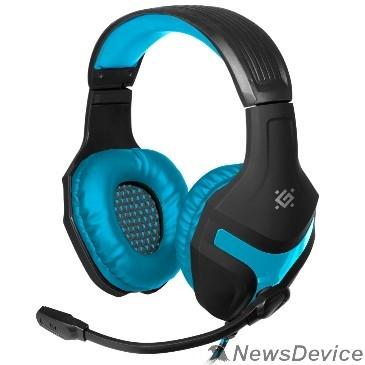 Наушники Defender Scrapper 500 синий + черный, кабель 2 м 64501