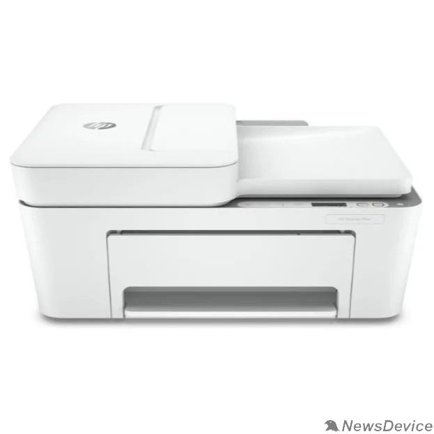 Принтер МФУ струйный HP DeskJet Plus 4120 (А4, принтер/сканер/копир, 1200dpi, 20(16)ppm, ADF35, WiFi, BLE, USB) (3XV14B)