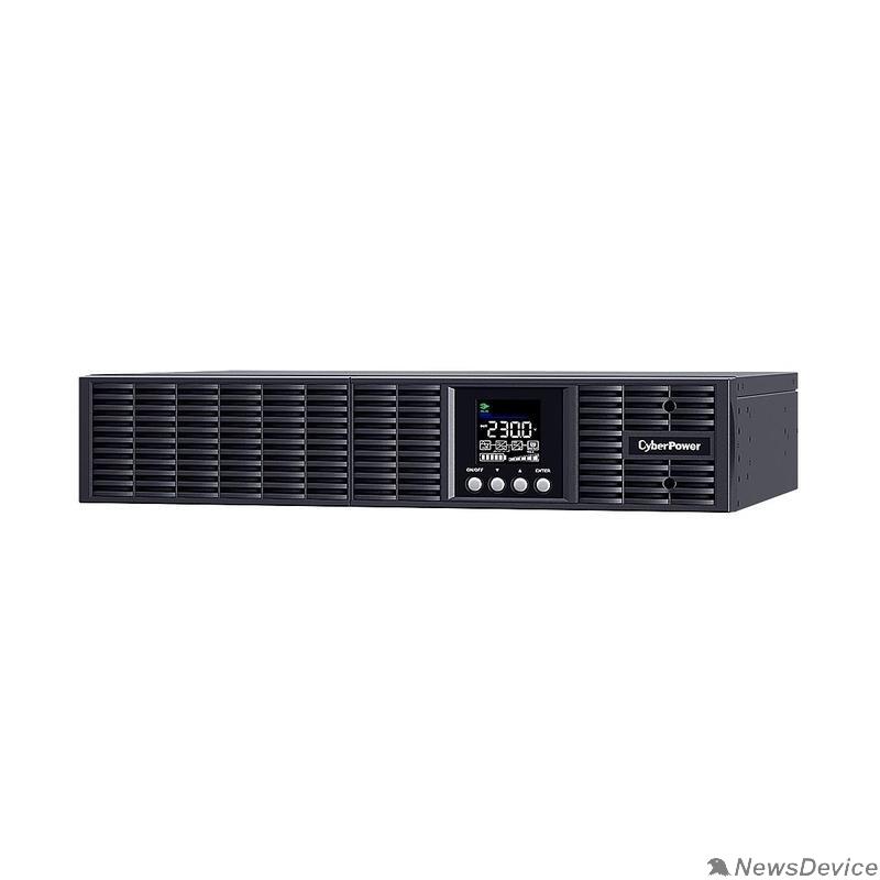 ИБП UPS CyberPower OLS2000ERT2Ua NEW Rack 2000VA/1800W USB/RS-232/SNMP Slot/EPO (4+4) IEC320 C13