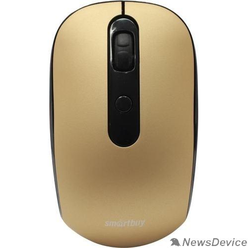 Клавиатуры, мыши Мышь беспроводная беззвучная Smartbuy ONE 262AG бронза /40 SBM-262AG-O