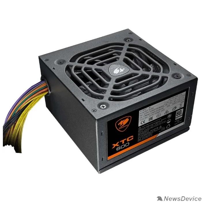 Блок питания Cougar XTC 600 Блок питания Cougar XTC 600 (Разъем PCIe-2шт,ATX v2.31, 600W, Active PFC, 120mm Fan, Power cord, 80 Plus, Japanese standby capacitors) XTC600 BULK