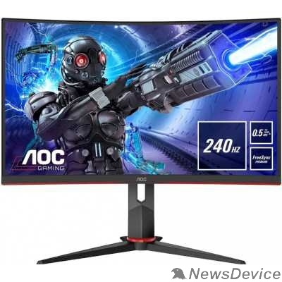 "Монитор LCD AOC 27"" Gaming C27G2ZE VA 1920x1080 240Hz 0.5ms 300cd 16:9 3000:1 8bit 2xHDMI2.0 DisplayPort1.2 FreeSync VESA"