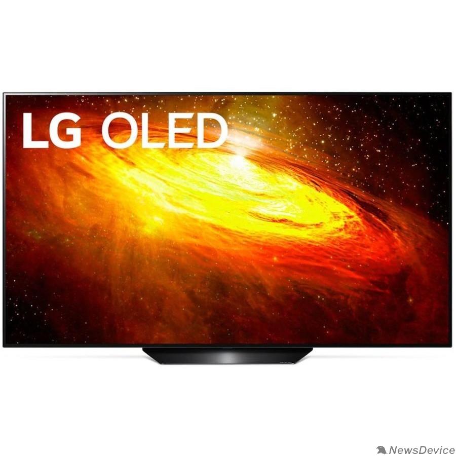 "Телевизор LG 55"" OLED55BXRLB серебристый Ultra HD/100Hz/DVB-T2/DVB-C/DVB-S2/USB/WiFi/Smart TV (RUS)"