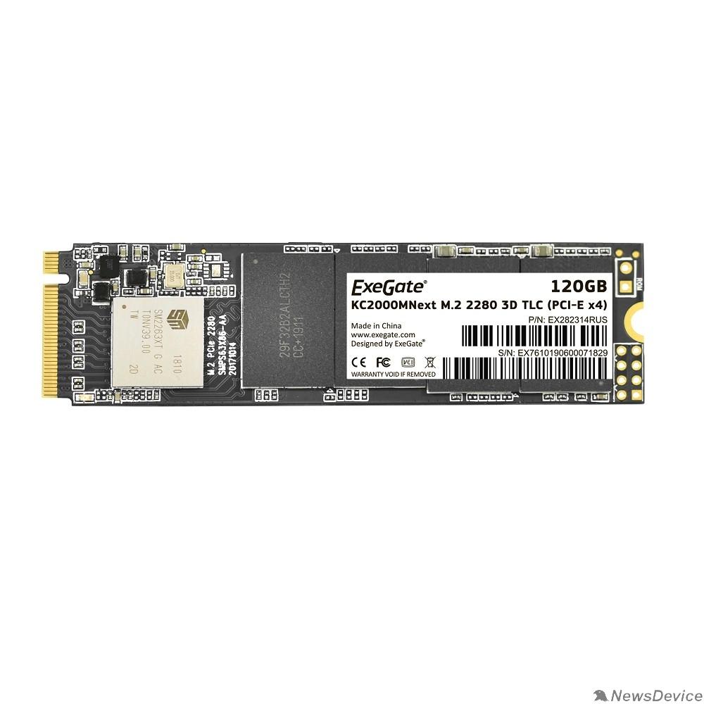 носитель информации ExeGate SSD M.2 120GB Next Series EX282314RUS