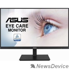 "Монитор ASUS LCD 27"" VA27DQSB Gaming черный IPS 1920x1080 75Hz 5ms 250cd 16:9 178/178 1000:1 8bit(6bit+FRC) D-Sub HDMI1.4 DisplayPort1.2 FreeSync GSync(comp) 2xUSB2.0 2x2W VESA"