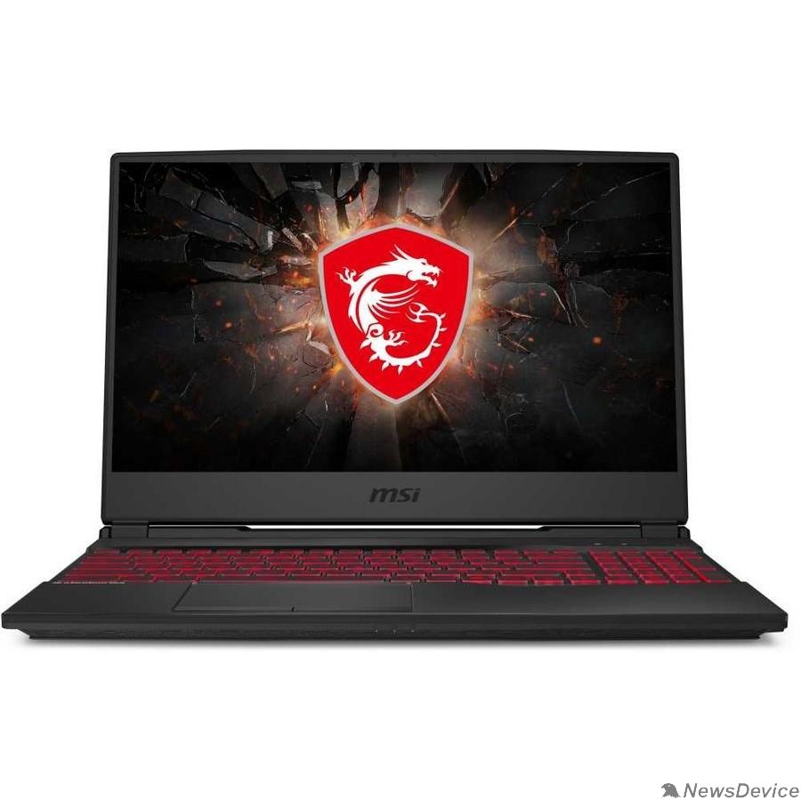"Ноутбук MSI Leopard GL65 10SCSR-082XRU 9S7-16U822-082 Black 15.6"" FHD i5-10300H/8Gb/1Tb+256Gb SSD/GTX1650Ti 4Gb/DOS"