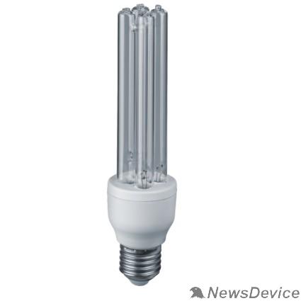 Люминисцентные лампы Navigator 14105 Лампа бактерицидная КЛЛ УФ 15вт E27 UVC 2H (14105 NCL-2H)