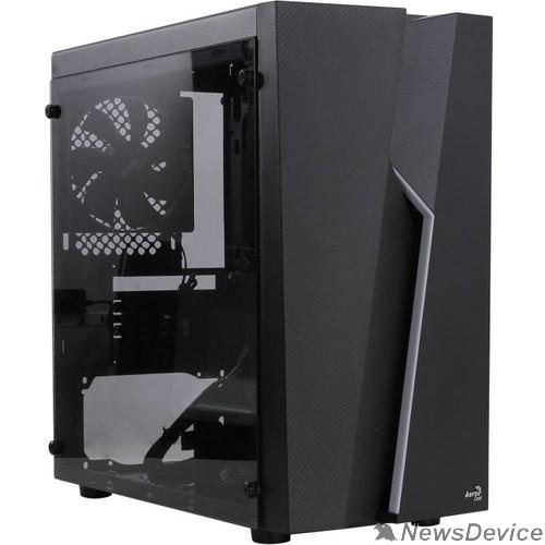 Корпус Aerocool Bolt Mini-G-BK-v1 ( mATX, Tempered Glass Window , без БП 4710562750041