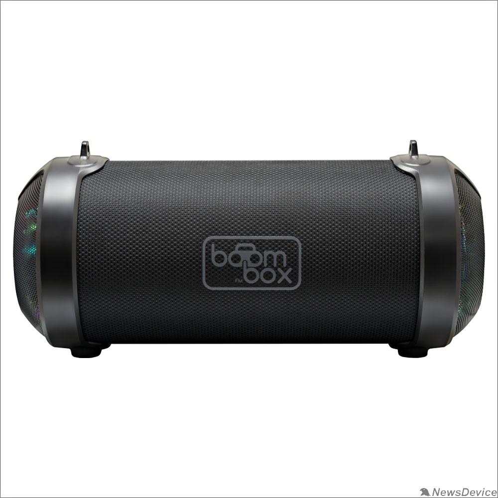 Колонки Ginzzu Ginzzu GM-906B, BT-Колонка 10W/1,5Ah/TWS/USB/AUX/FM/RGB
