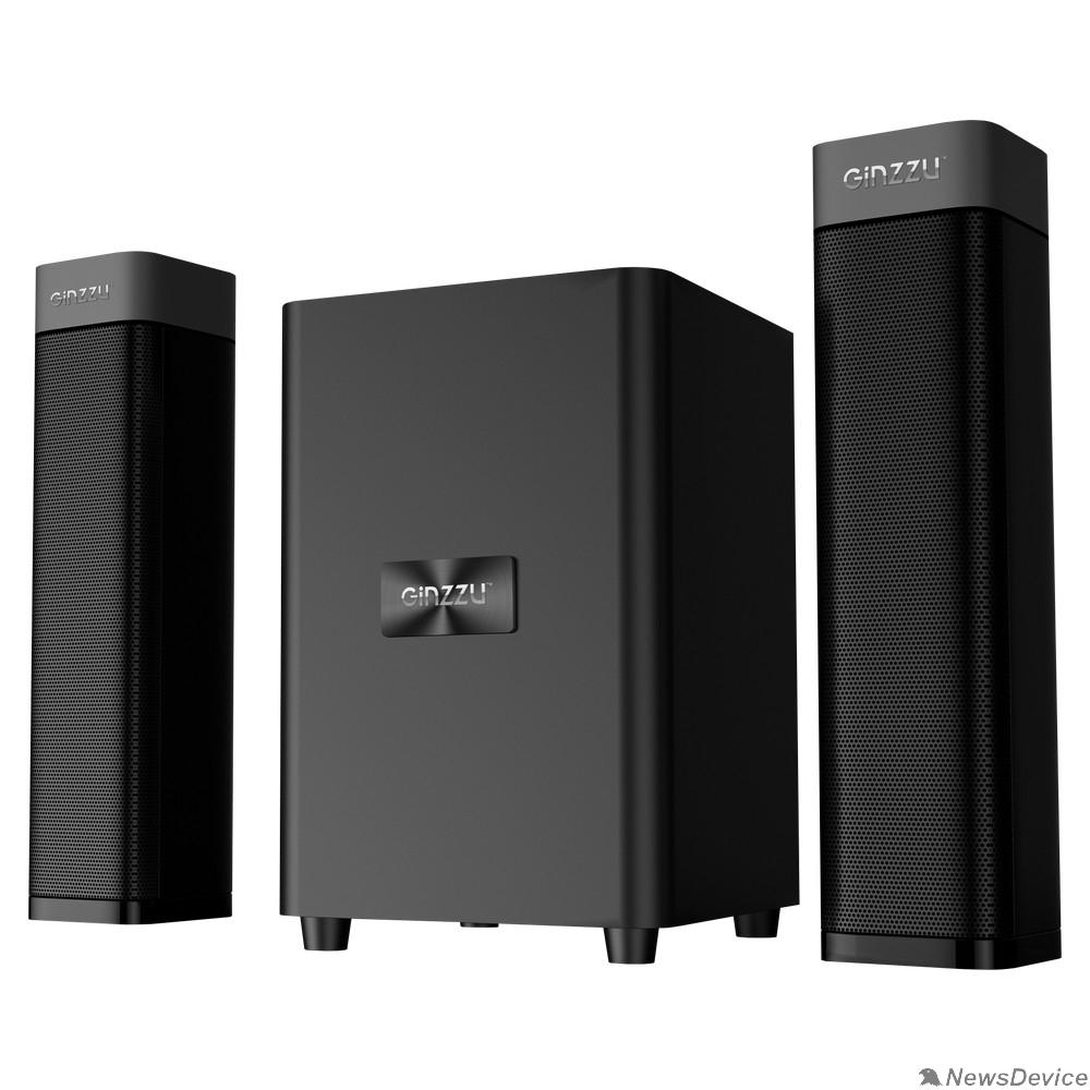 Колонки Ginzzu Ginzzu GM-414, Акустическая система 2.1, 50W/BT/USB/SD/FM/ДУ